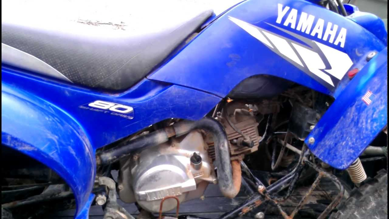 yamaha raptor 80 - project