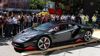 ¡Llegada del Lamborghini Centenario a México!