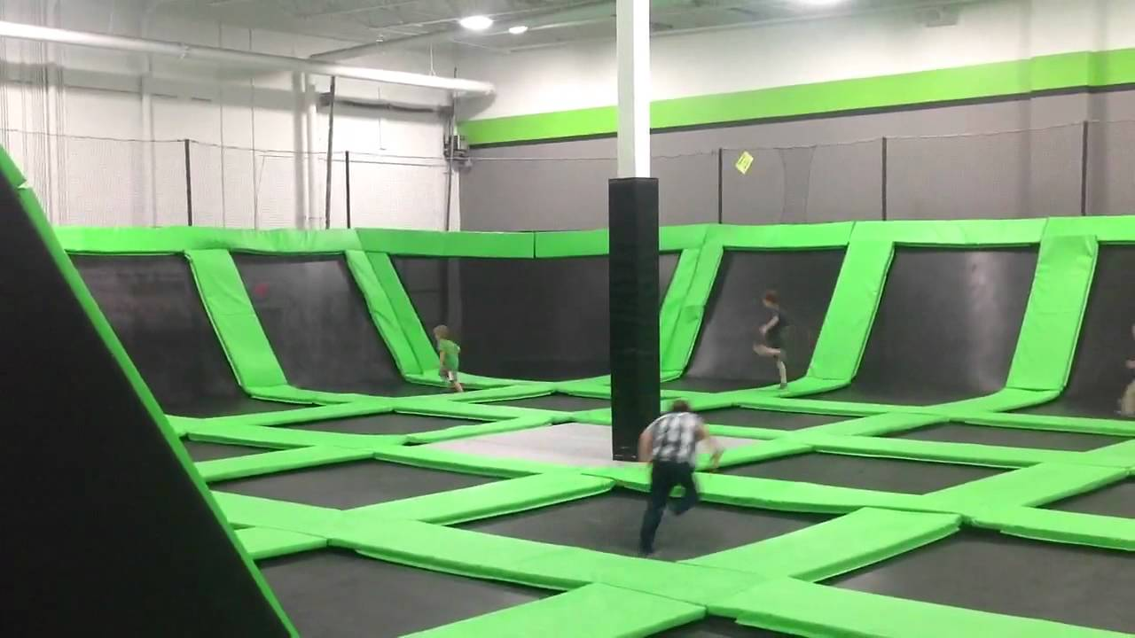 Zero Gravity trampoline Louis39s birthday