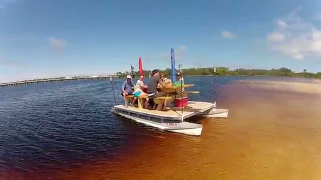TableToon floating picnic table - YouTube