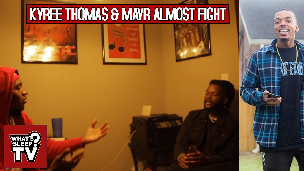 Kyree Thomas Almost Fights Mayr For Not Calling Brian Brown His Full Name