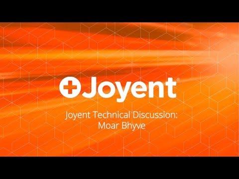 Joyent Technical Discussion: Moar Bhyve
