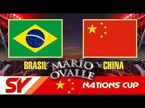 CHINA SY VS BRAZIL C JUEGO CRUCIAL PARA ARGENTINA EN LA COPA DE NACIONES