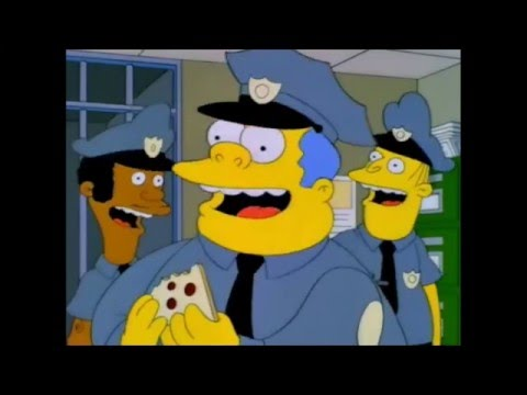 The simpsons marge joins the springfield police youtube - Police simpsons ...