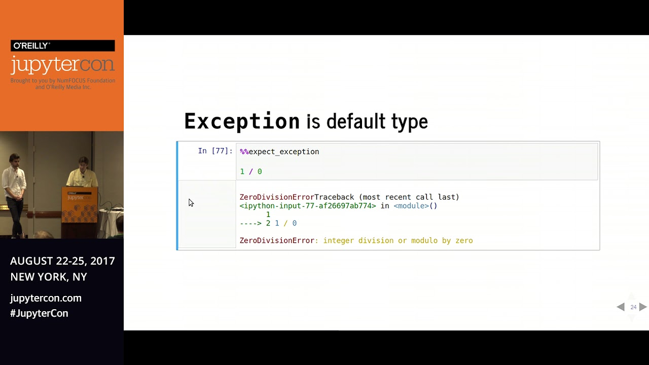 Image from Teaching from Jupyter Notebooks - Christian Moscardi (The Data Incubator)