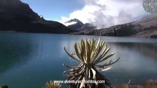 Cocuy Hacienda La Esperanza, Laguna grande de la Sierra, Laguna de La Plaza,