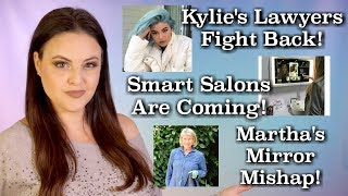 What's Up in Makeup NEWS! Kylie Trying to Stay OUT of Court, Smart Salons, and Martha Stewart!