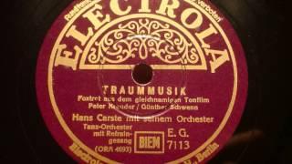 Hans Carste   Traummusik