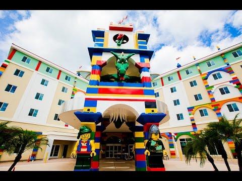 Florida Travel: Tour the LEGOLAND Hotel at LEGOLAND Florida - YouTube