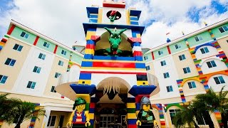 LEGOLAND HOTEL FLORIDA REVIEW: LEGOLAND HOTEL GRAND OPENING: COMPLETE THEME PARK TOUR! TRAVEL VLOG!