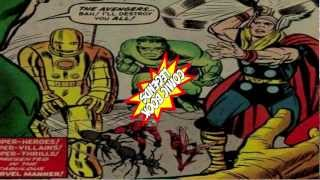 The Origin of The Avengers