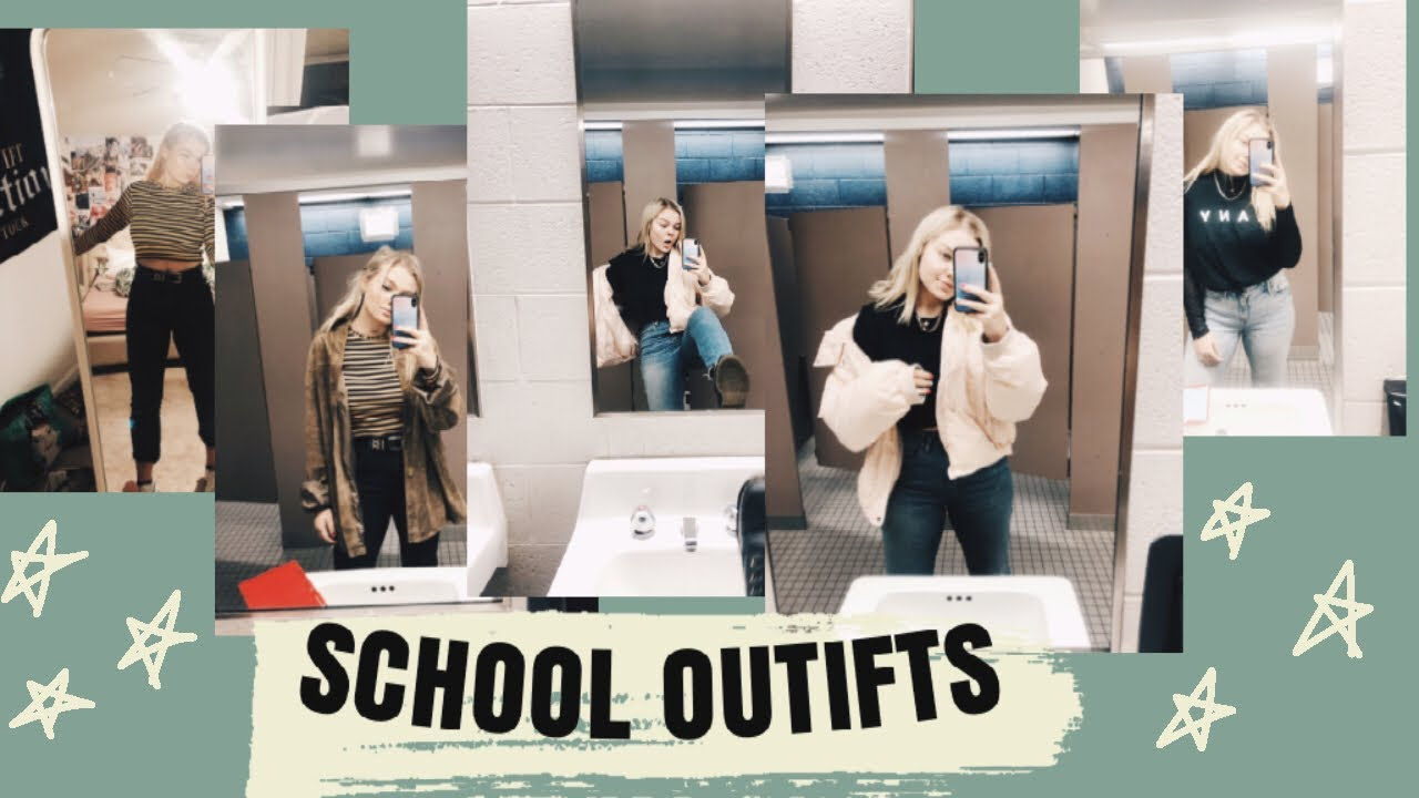 [VIDEO] - School outfits of the week!! 4