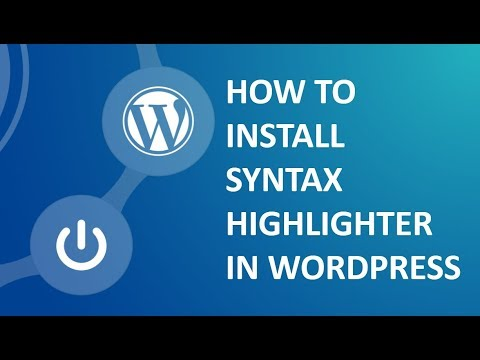 How To Install Syntax Highlighter Plugin -code Highlighter In Wordpress In Cpanel