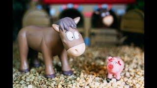 Мультик про лошадей и свинью 2018 HD