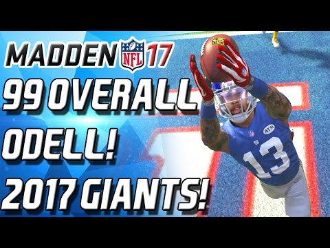 99 OVERALL OBJ! ROOKIE OF THE YEAR! GIANTS SQUAD PREVIEW! - Madden 16