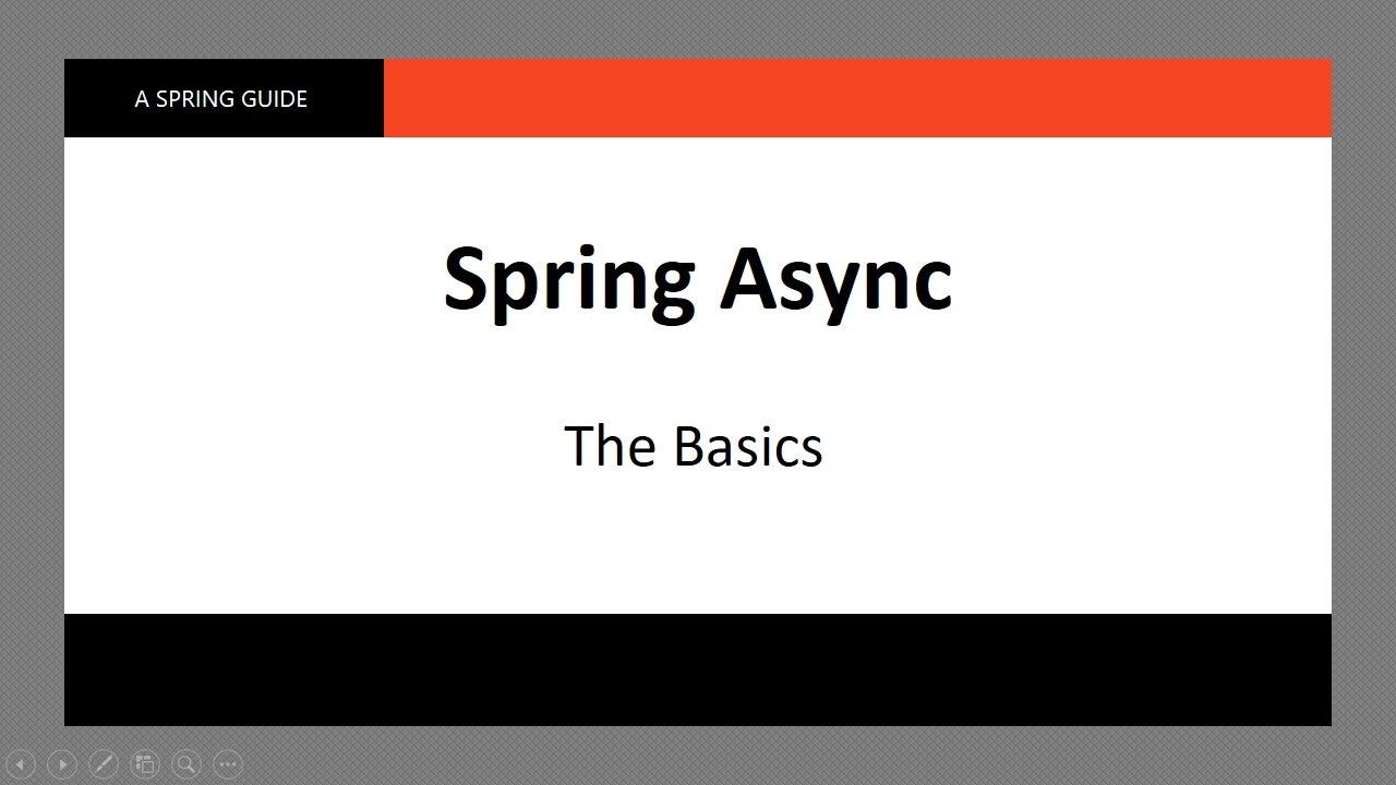 How To Do @Async in Spring | Baeldung