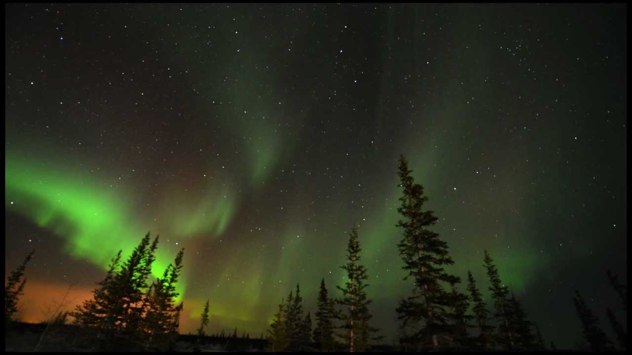 Northern Lights Time Lapse From Churchill Manitoba Youtube