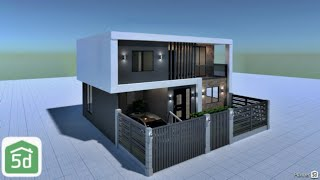 Modern House Exterior Design In Planner 5d | Ayuh