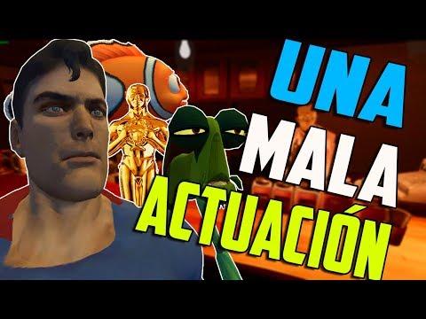 UNA MALA ACTUACIÓN en VR CHAT | Cosas Random - Gameplay español #2