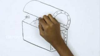 How To Draw A Treasure Box