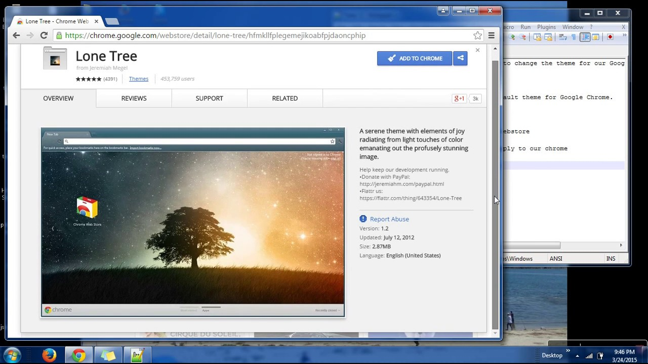 Google chrome themes apply - How To Apply Themes In Google Chrome Apply Theme To Google Chrome