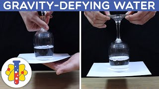 Gravity Defying Water #shorts #Experiments #science