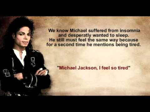 Michael Jackson's voice recorded after death