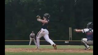 Jon Schuldt Chapel Hill Baseball Highlights EvoShield Canes 16U July 2017