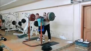 Даниил Сердюков. Пауэрлифтинг. Тренировки январь 2019г.