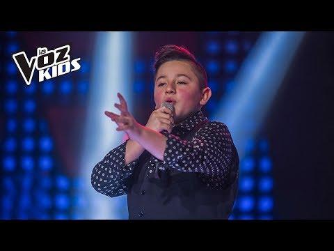 Tomás cantó Recuérdame de A. Ávila y N. Jiménez - Rescates   La Voz Kids Colombia 2018