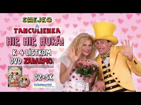 Smejko a Tanculienka - Nové predstavenie Hip, hip, hurá!