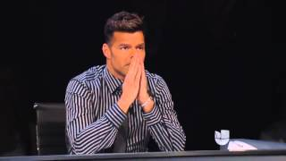 "Johann Vera  ""Disparo al Corazon"" by Ricky Martin   La Banda Performs"