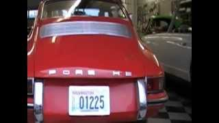 1965 Porsche 912 For Sale - Rare Early 3 Guage Restored 912.  Startup & Detailed Walk Around
