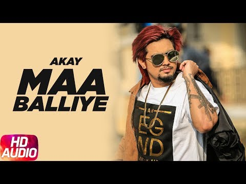 Maa Balliye | Audio Song | A Kay Feat. Deep Jandu | Full Punjabi Song 2018 | Speed Records