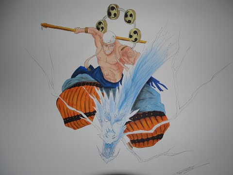 Speed Drawing - ENER - One Piece