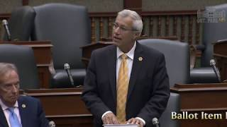 Fedeli speaks in support of Nick's Law Oct. 5, 2017