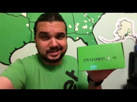 ZTE GRAND X 4 UNBOXING AND REVIEW 1080p CAMERA CRICKET WIRELESS MTR First Look!