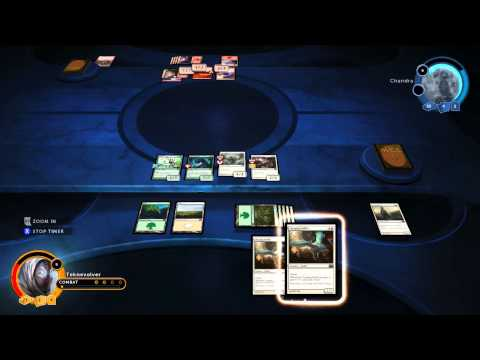 Magic 2014 Duels of the Planeswalkers Sealed Campaign Match 2 AI Perfection