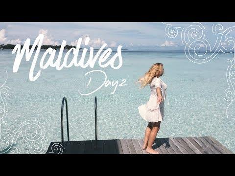 Maldives Vlog - Day. 2 : Sunrise, Rainbow, Wildlife & More!