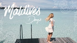 Maldives Vlog - Day. 2 : Sunrise, Rainbow, Wildlife & More!