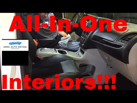 An All In One for Your INTERIOR!!  Nanoskin Upholstery Cleaner and Shampoo!!