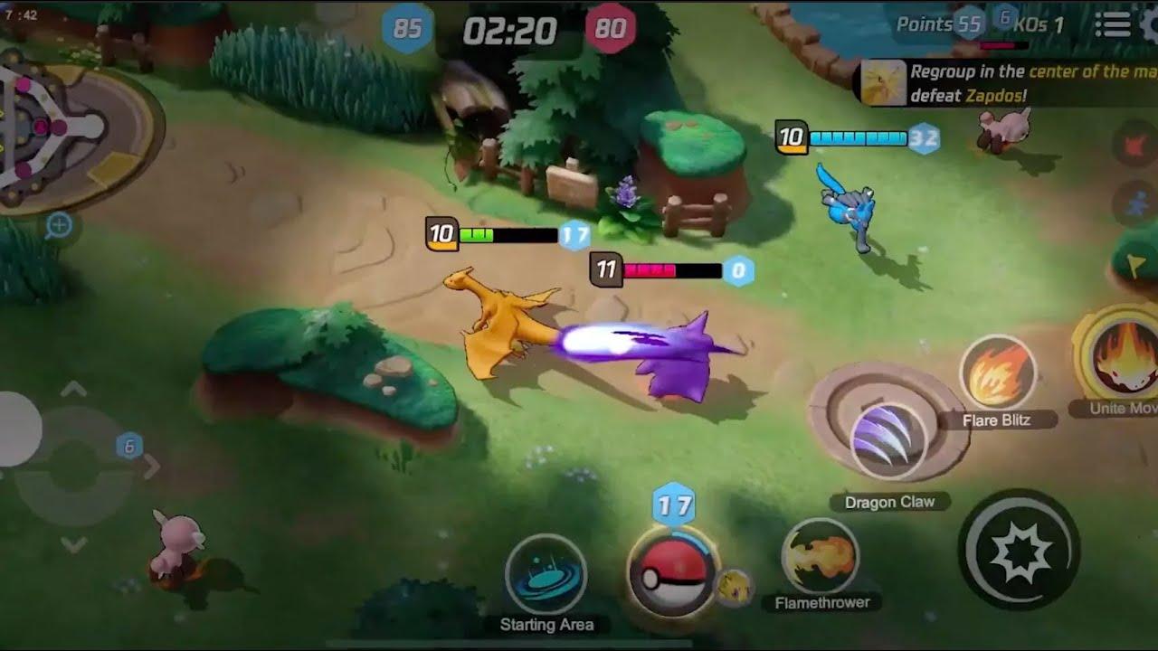 Pokemon Moba