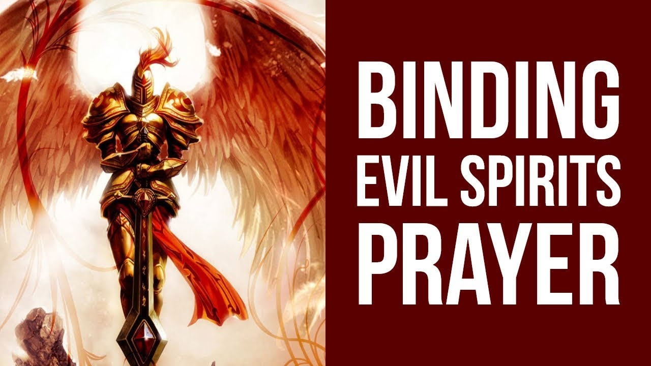Prayer for help from evil forces and demons