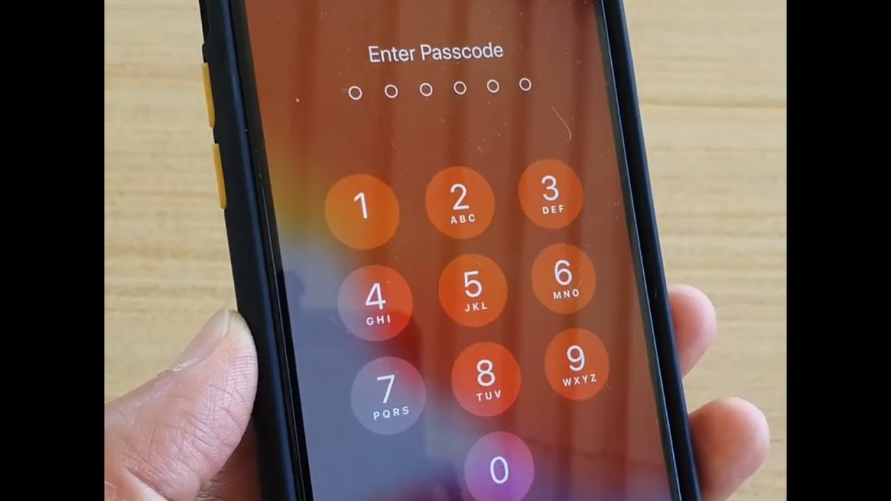 iPhone 11 Pro: How to Turn Off Lock Screen Passcode - YouTube