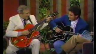 Chet Atkins + Vince Gil Together. Rare.