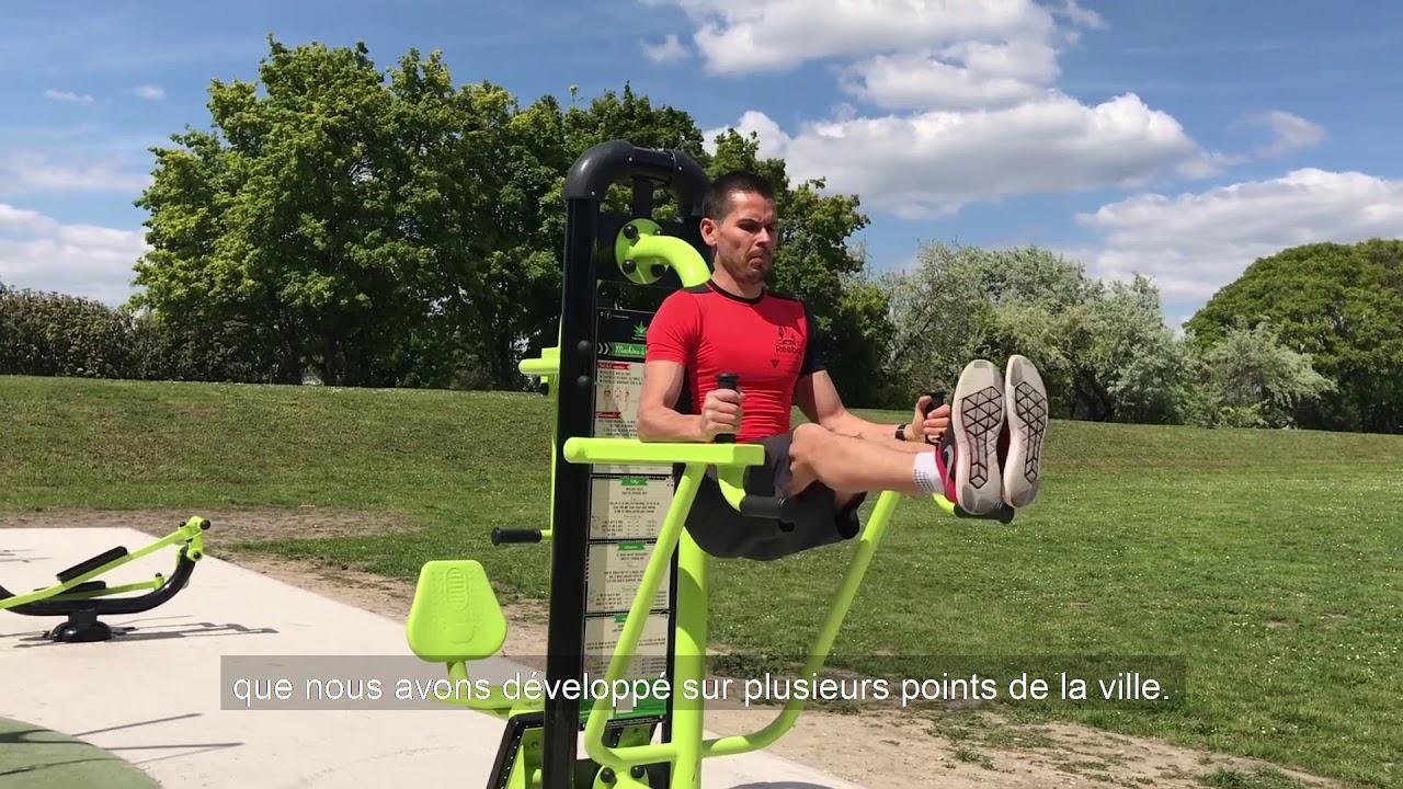 Nouveauté à Sartrouville Des Agrès De Fitness Au Parc Léo Lagrange Et Le Long Des Quais De Seine Youtube