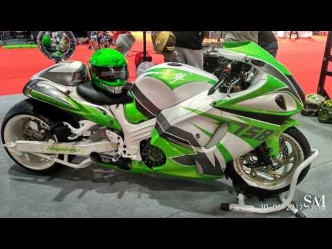 Suzuki Hayabusa fully  customized | Fully Customized Sports Bikes | Custom Show Emirates Part 3 |