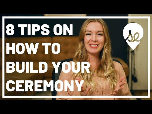 8 Tips on How to Build Your Ceremony Structure with Your Wedding Officiant