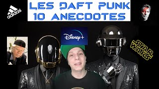 Les Daft Punk 10 anecdotes