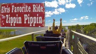 zippin pippin elvis presley s favorite roller coaster back seat pov bay beach amusement park
